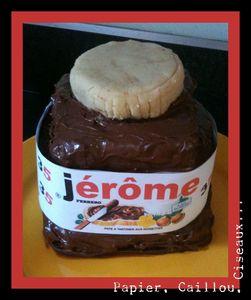 gâteau Nutella2