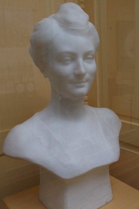 Hélène Bourgeois (sa fille) - Léon Bourgeois (Musée de Châlons-en-Champagne)