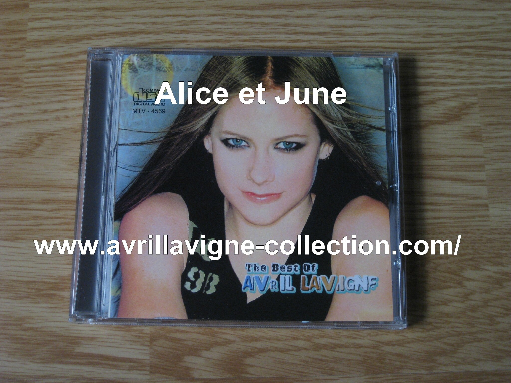 CD The Best Of Avril Lavigne-Japon (2004)