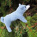 Test crochet - shiba dog...