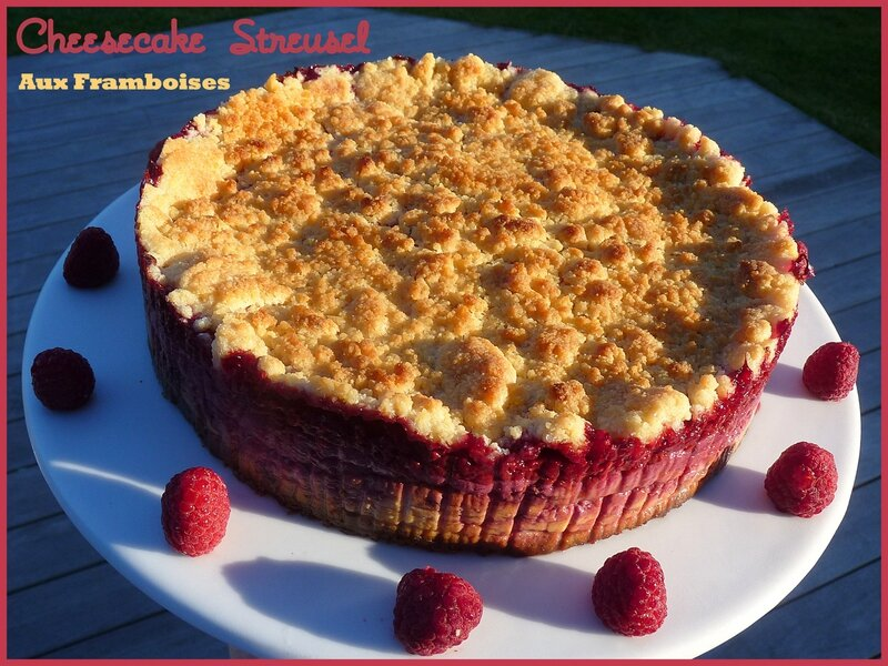 cheesecake steusel