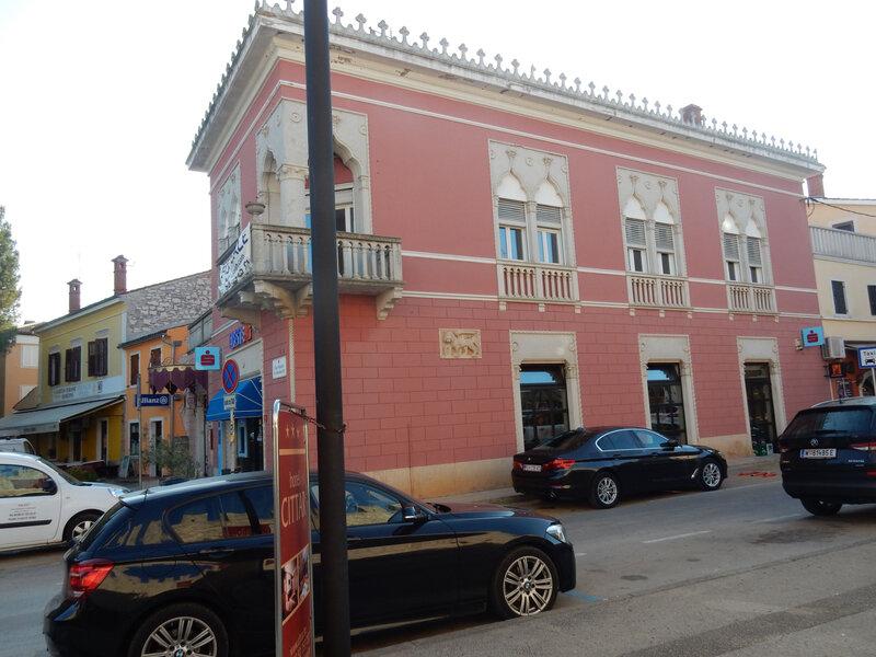 Novigrad, architecture vénitienne, 25 octobre 2019