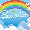 L'appli badabim contient des jeux conçus rien que pour les petits !