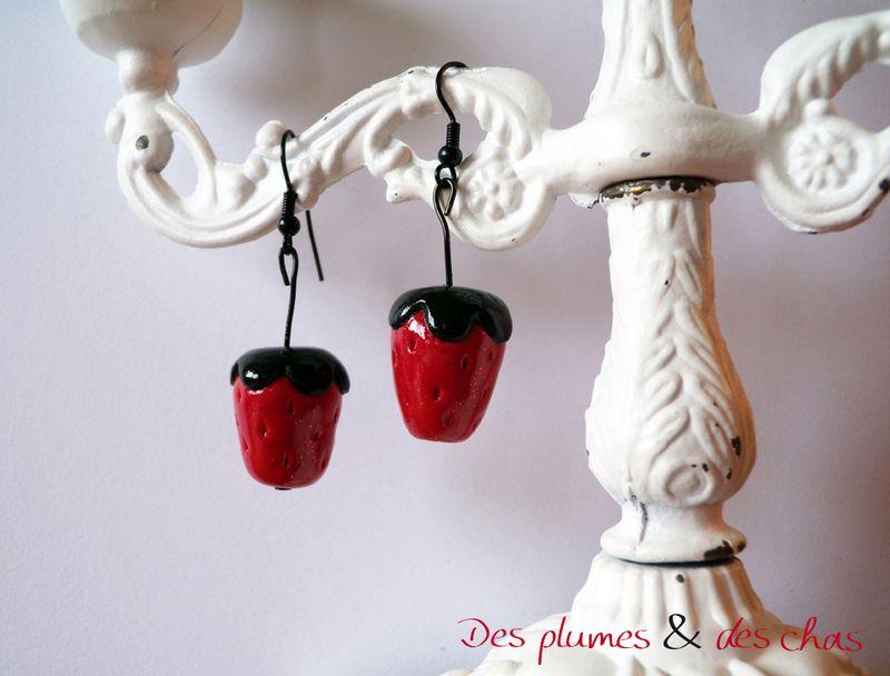 boucles fraises