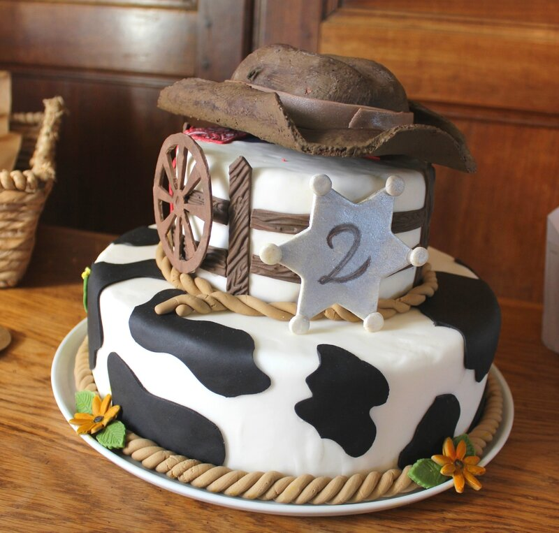 Gâteau Cowboy (5)