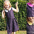 Une solange version couture lin