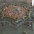 049- plan-maquette de Neuf-Brisach