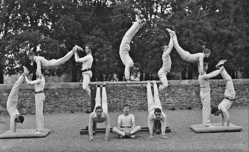Gymnastique Combinaison par équipe
