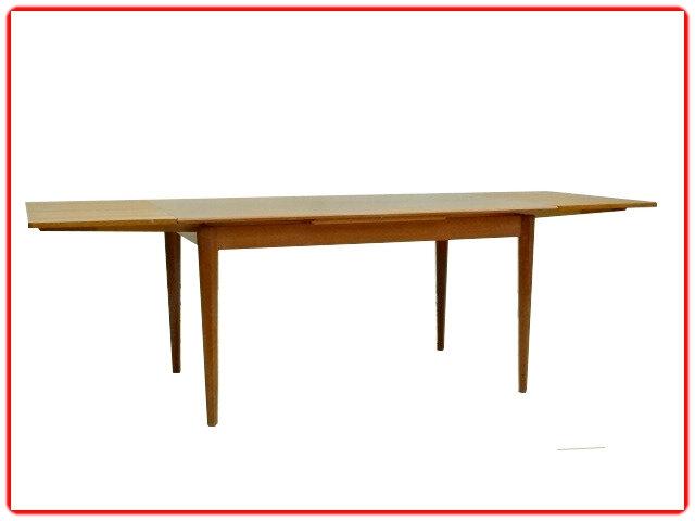 Table Extensible Teck Vintage Scandinave V Meubles Deco Vintage