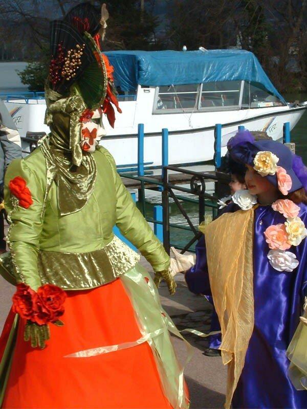 Carnaval Vénitien d'Annecy organisé par ARIA Association Rencontres Italie-Annecy (56)