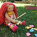 poupée waldorf sur commande