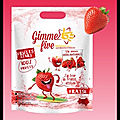 gimme five fruits stars fraise