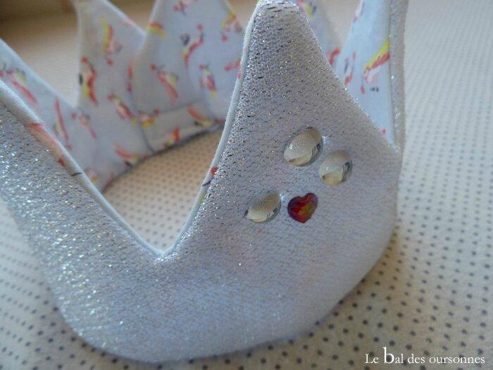 107 Blog Couronne Tissu Couture Princesse Déguisement