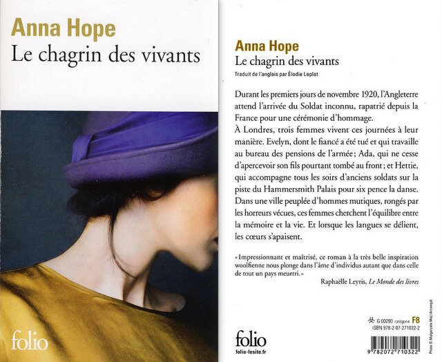 3 - Le chagrin des vivants - Anna Hope