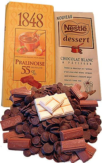 chocolat Blanc_ praliné noir_ Cuisineflo