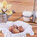 Donuts balls...remerciement..et partenariat