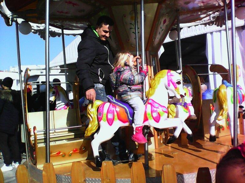 pedion aeros bazari noel 2015 chevaux de bois