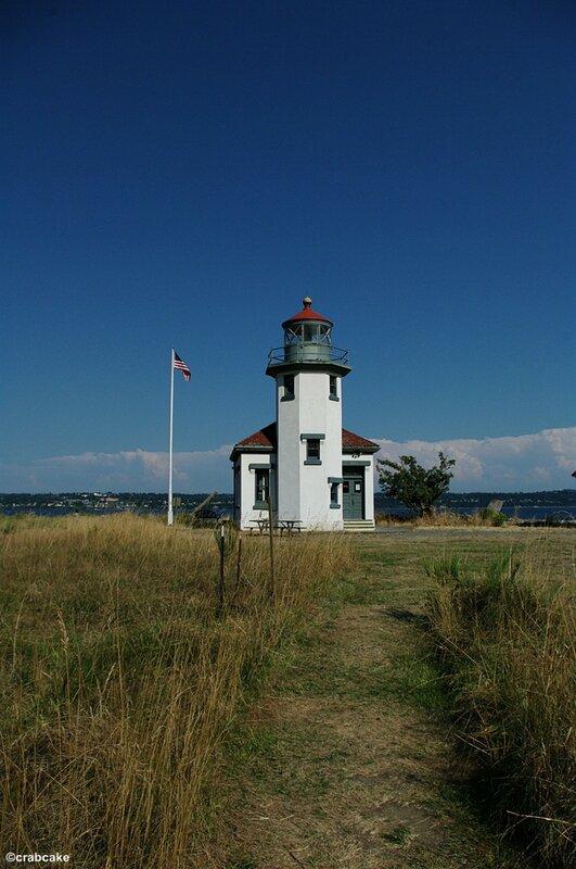 Vashon Island Park Robinson Park Lighthouse