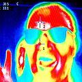 Portrait infrarouge thermique