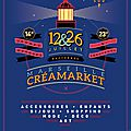 Rendez-vous au creamarket samedi 12 juillet en version nocturne à marseille