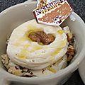 Cocotte de rocamadour au mascarpone et aux noix