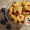 Biscuits de noël aux fruits confits - recette traditionnelle