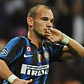 Transferts : sneijder entretient le suspense