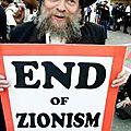 L'incroyable autodafé sioniste.