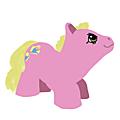 My little pony vintage cligne des yeux...