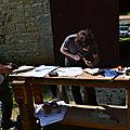 50 ans du Club Marpen,EXERCICES CONSTRUCTIVISTE,exercices constructivistes,gravure lithographique,promenade d'art d'art !,sortir en Charente