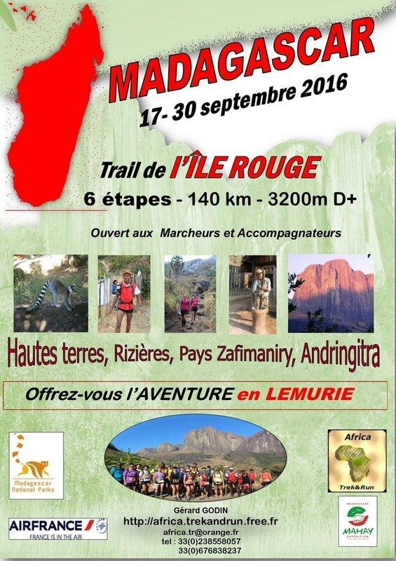 Trail de l'ile rouge 2016