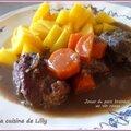 Cuisine de bistrot : joues de porc braisées au vin rouge
