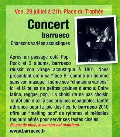concert 29 juillet