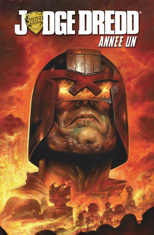 Editions Reflexions Judge Dredd