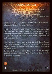 Le Veilleur - bonne_fortune (expérience)