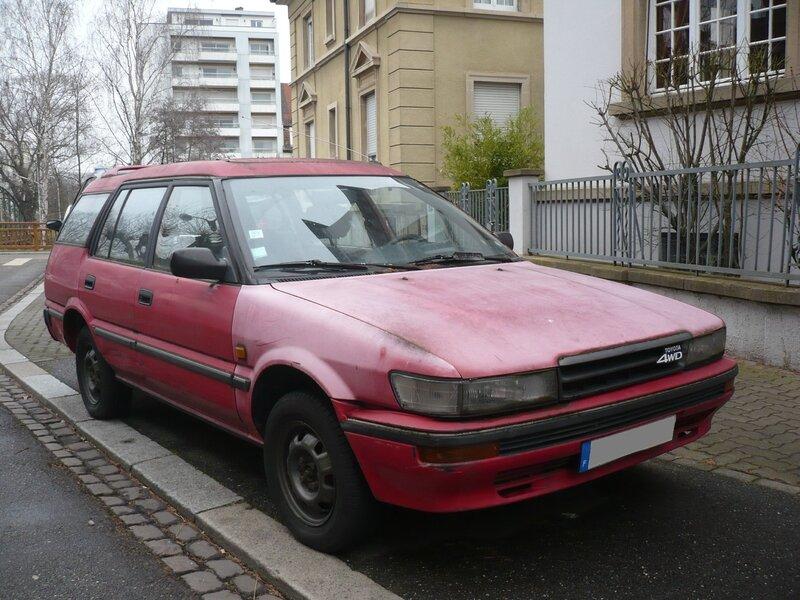TOYOTA Corolla XL 16valve 4WD Escape Strasbourg (1)