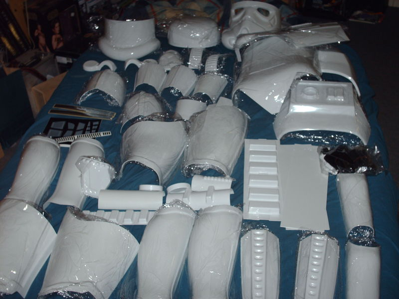 Stormtrooper Armor Star Wars Action Figure Collection