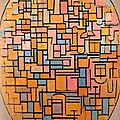 1913_Composition ovale_Mondrian(évolution)