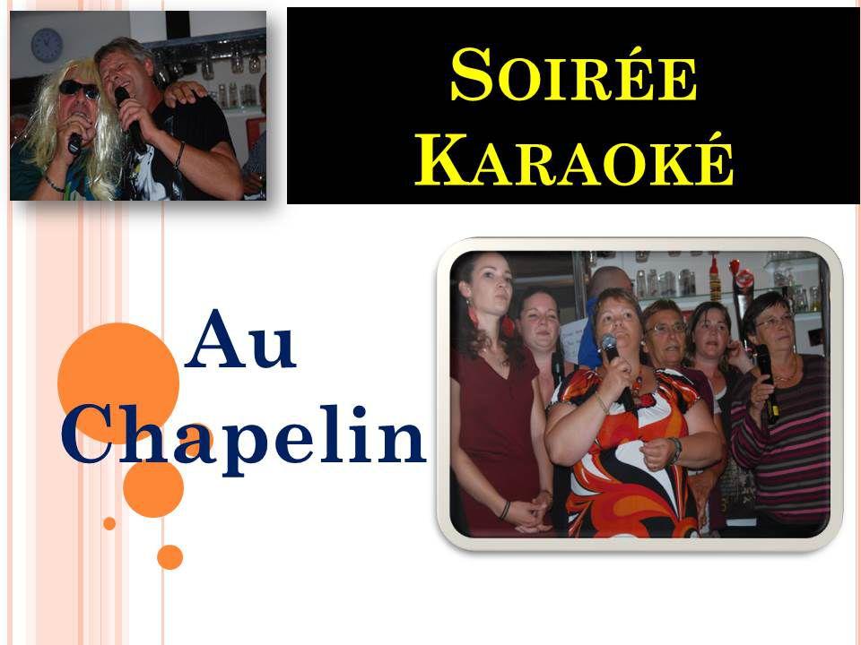 Soirée karaoké au chapelin 01