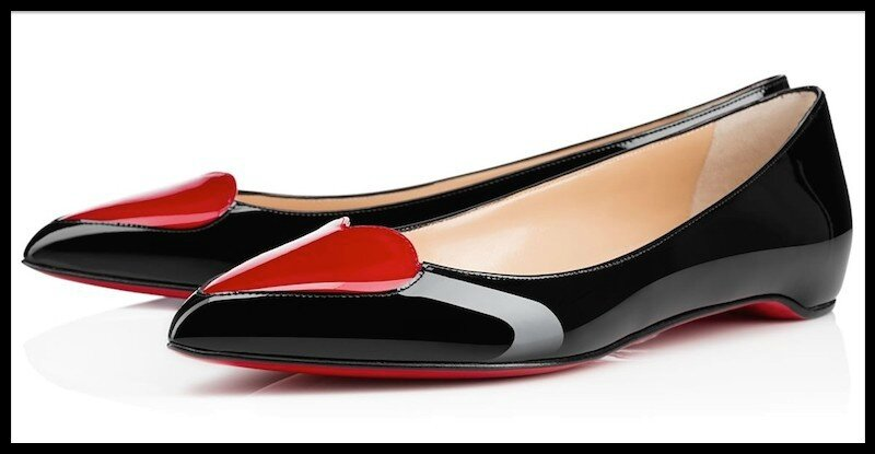 christian louboutin collection cora ballerines