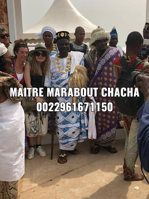 MAITRE MARABOUT CHACHA