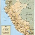 perú físico, pays frontaliers
