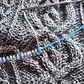 Dahlia shawl - le retour du crochet