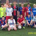 Les 13 ans à l'entrainement du 13 mai 2009