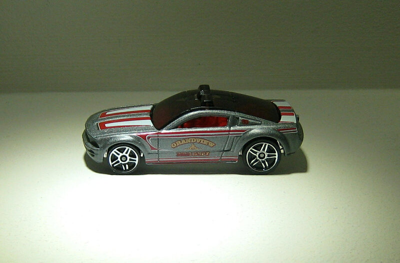 Ford mustang GT concept (Hotwheels 2011)