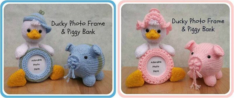 Traduction Ducky Photo Frame and Piggy Bank - Lorraine Pistorio