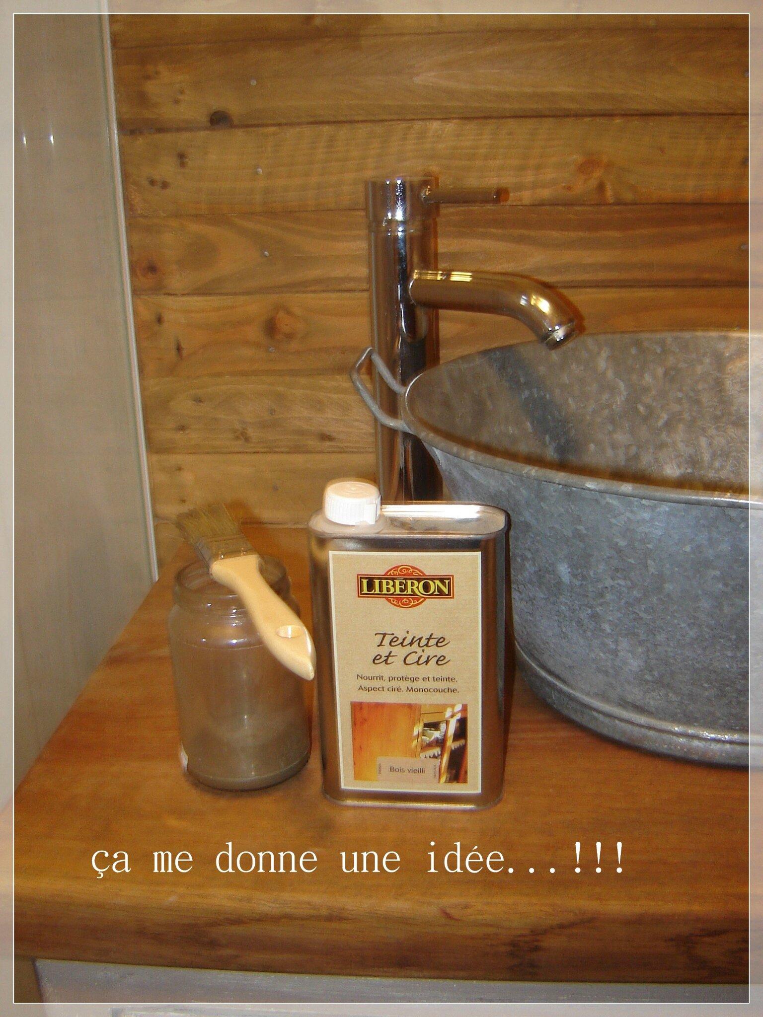 Meuble Salle De Bain Bas Bois ~ chantier salle de bain partie iii a me donne une id e
