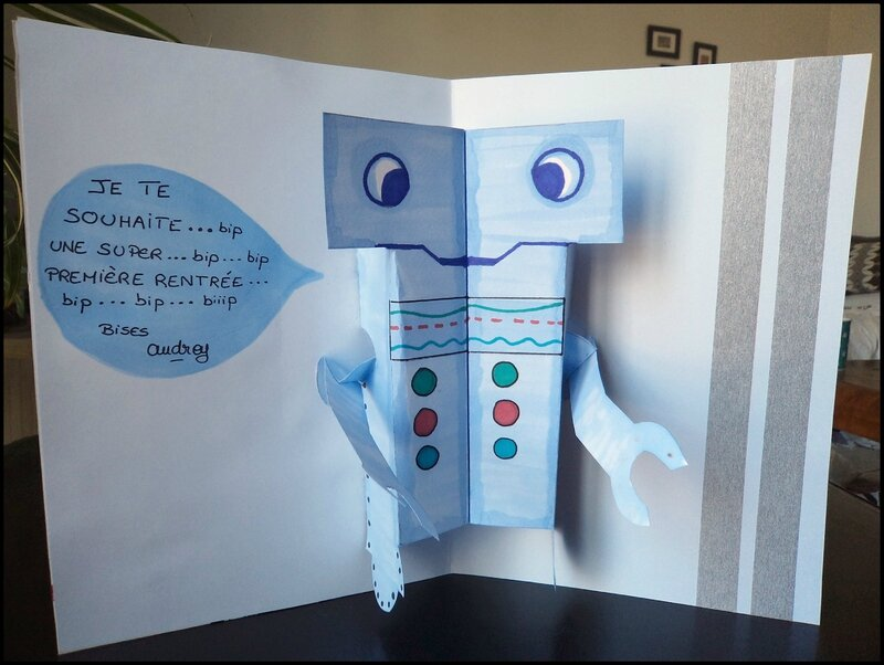 Pop-Up robot Cam&Drey bricolent