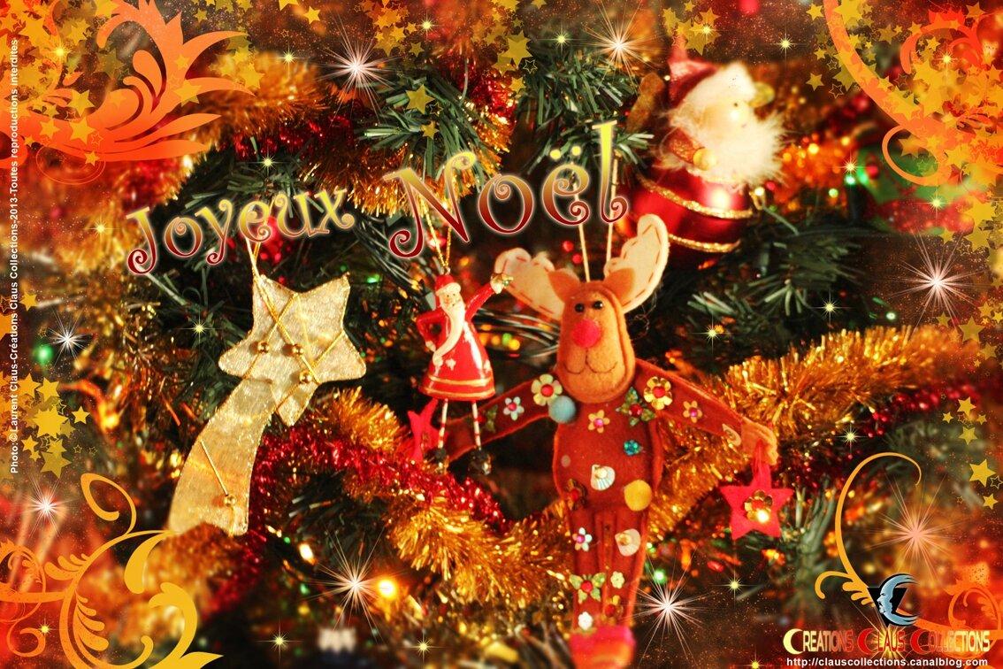 Joyeux Noel Images Gratuites.Joyeux Noel Carte De Vœux N 4 Gratuite Free Greeting Card