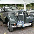 Adler 2 liter ev cabriolet 1939